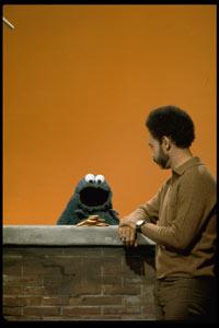 Holly's Dad w/ Jax's Favorite Muppet...COOOOKIEEEE!!!