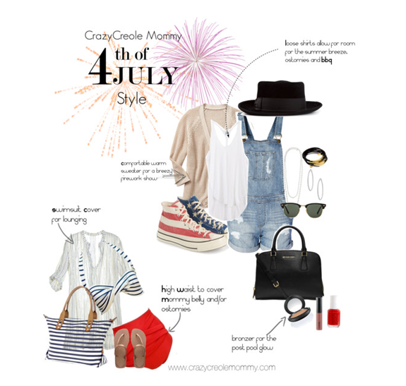 Mommy & IBD belly friendly fashion suggestions for the 4th!