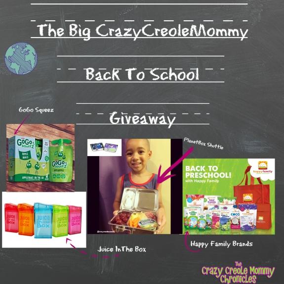 BackToSchool Giveaway